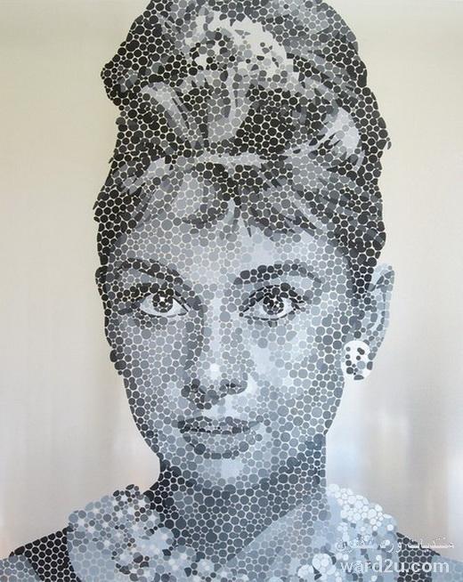 فن الرسم بالتنقيط Le pointillisme