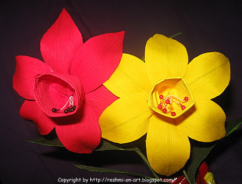 Duplex-Paper-Flowers-The-Daffodils