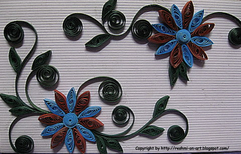 Quilling Patterns And Designs Design On Envelope Calligraphy