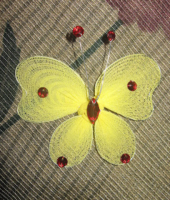 Stocking-craft-yellow-butterfly