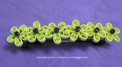 Quilling-craft-Quilled-Clip
