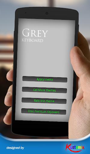 Grey Keyboard