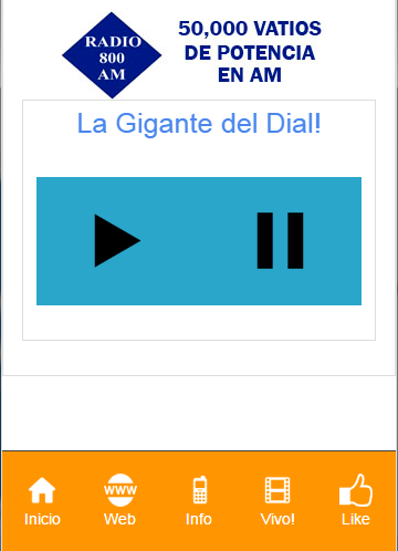 Radio 800 AM Nicaragua