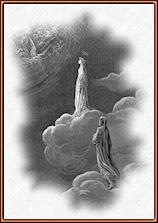 Gustave Doré. Beatriz y Dante en el Paraíso. Grabado