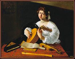 El tañedor de laúd. Caravaggio. The Metropolitan Museum of Art