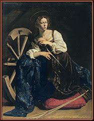 Caravaggio. Santa Catalina de Alejandría