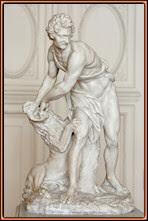 Sansón y el león. Delvaux
