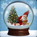 Snow Globe Winter Christmas icon