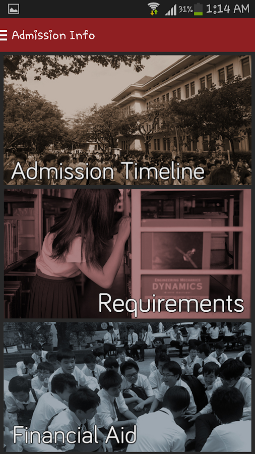 Chula Engineering Admission- screenshot