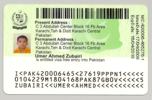 NADRA Pakistan NIC...