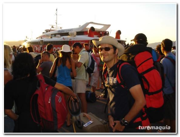 como ir de Santorini a Creta