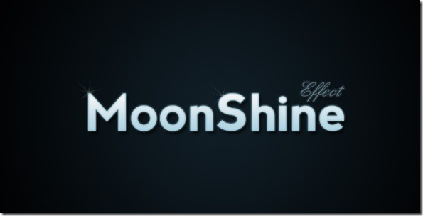 Text Effect Quickie  Moon Shine Text Effect