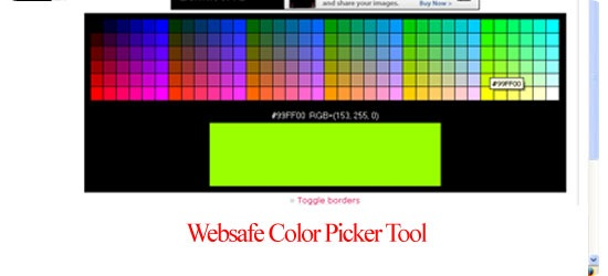 Websafe-Color-Picker-Tool
