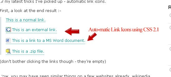 Auto-matic-Link-Icons