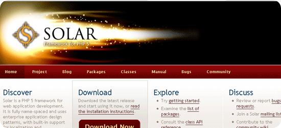 Solar-PHP-5-framework