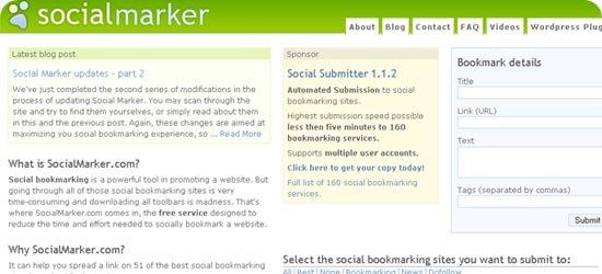 SocialMarker