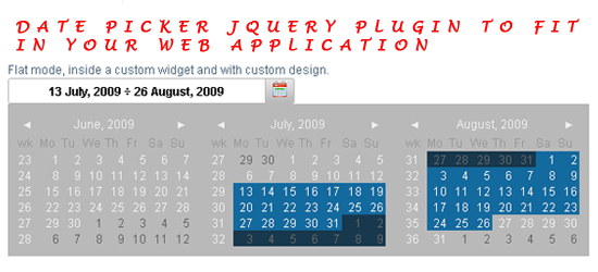 7 interesting jQuery calendar plugins