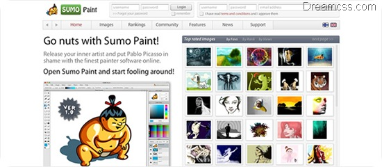 SUMO Paint 20 Useful free Online Image Editor
