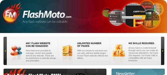 Flash-Moto-CMS