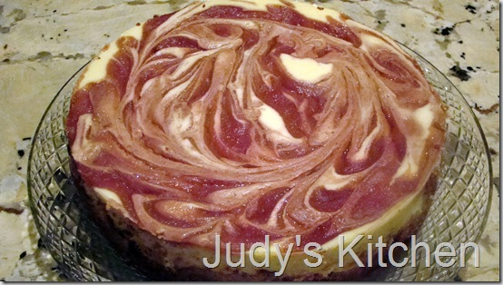 strawberry swirl cheesecake (2)