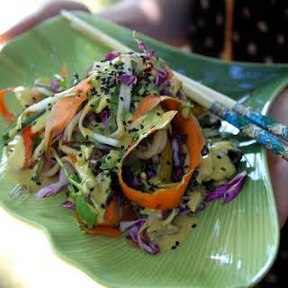 Raw Pad Thai.