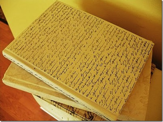 book stamped with french script