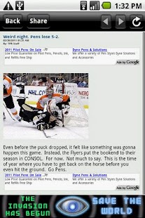 The Pensblog - screenshot thumbnail