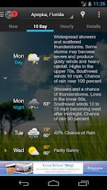 WeatherBug Screenshot 4