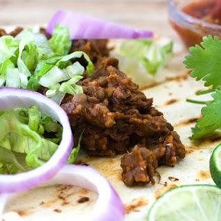 Ancho Lentil Tacos
