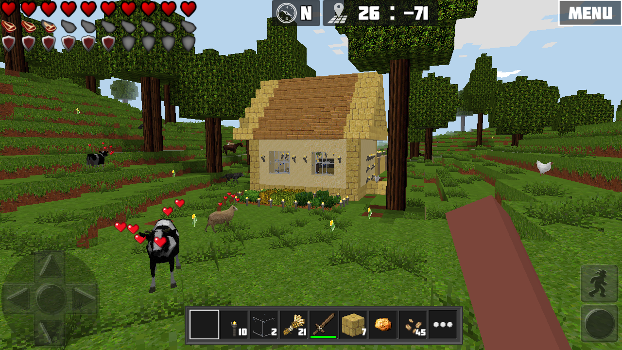 Worldcraft 3d build craft android apps on google play Build house online 3d free