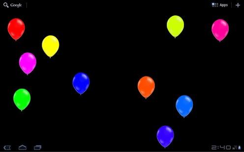 玩個人化App|BalloonBurst Live Wallpaper免費|APP試玩