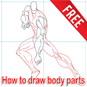 How to draw body parts Apps