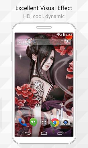 Cool Woman Live Wallpaper