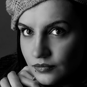 by Теди Димитрова - Black & White Portraits & People (  )