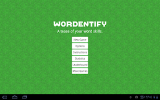 Screenshot of Wordentify - Free Word Jumble.