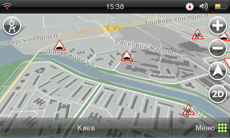 Карта Украины Визиком 3.5.7