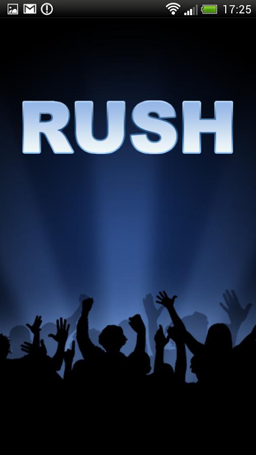Rush онлайн радио и тв screenshot
