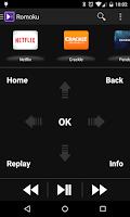 Screenshot of Romoku - Remote for Roku