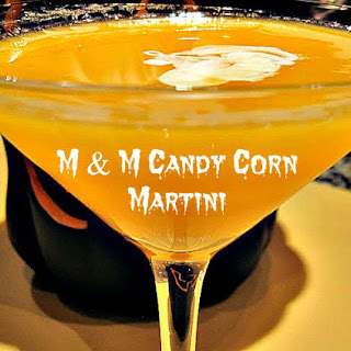 M & M Candy Corn Martini