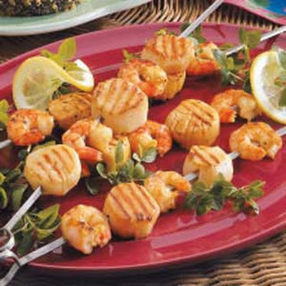 Tangy Shrimp and Scallops.