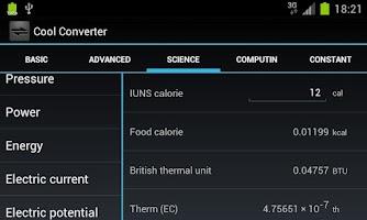 Screenshot of Cool Converter Free