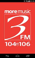 Screenshot of 3FM Isle of Man