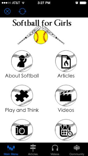 Softball for Girls App