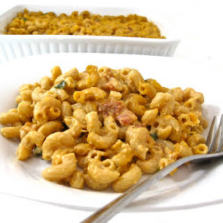 Skinny, Smoked Macaroni and Cheese.