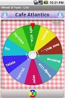 Screenshot of Wheel of Yum! LITE