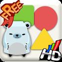 네모꼬미의 색과 도형 Free icon