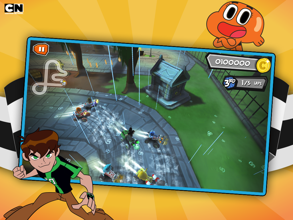 FORMULA CARTOON ALL-STARS - screenshot