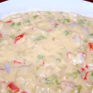 Christmas Seafood Casserole.