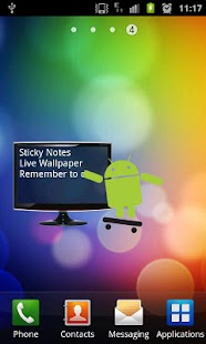 Sticky Notes Live Wallpaper- screenshot thumbnail
