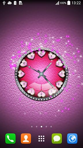 时钟动态壁纸应用程序